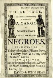 African American Slave Poster