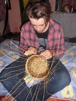 Learning basketmakin